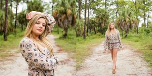 Honeymoon Island Senior Picture Session