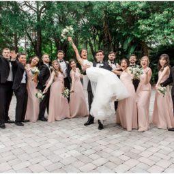 St. Lawrence Catholic Church Higgins Hall Wedding | Tampa Wedding Photographer
