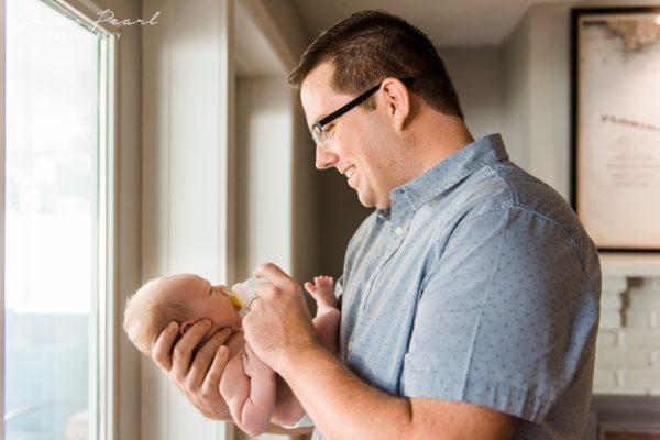 Harbor Bluffs Lifestyle Newborn Photographer